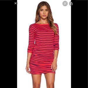 Sundry long sleeve striped dress sz 1/S